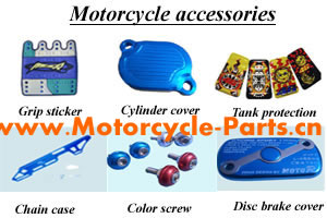 China Motorcycle Clothing (Jacket),Motorcycle Helmet,Tire Pressure Gauge,Tire Valve Caps,Handle Grip Sticker,Chains Cover,Cylinder Cover,Resister Cover,Disc Brake Cover,Tank Protection,Gasket Repair Package,Color Screw,Damper Rubber,Foot Rest Rubber,Motorcycle Tail Box,Baseball Caps,Motorcycle Accessories Manufacturer,Supplier and Exporter - Solat Motorcycle Parts Co,. Ltd